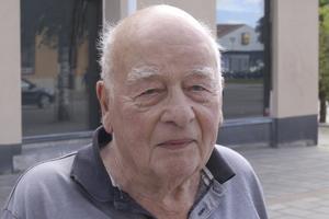 Wilhelm Stormblad, 88 år, pensionär, Fagersta: En miljon kronor. Då skulle jag betala av mina barns lån och skulder.