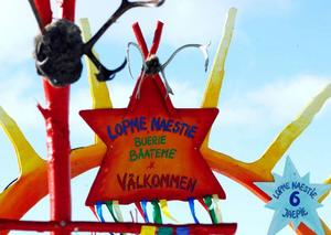 Lopme Naestie betyder snöstjärna på samiska.