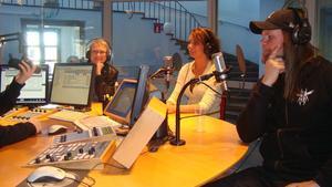 Var emd i Radio Dalarna idag tillsammans med Jonas Stentäpp (från Hjalle och Heavy) och även Bodil Ljungberg från SVT.