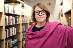 Södertäljes bibliotekschef Helena Gomér. Foto: Marion Palm
