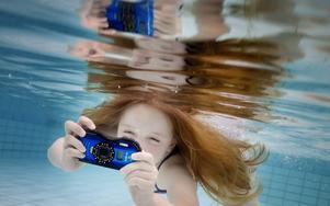 Det blir ofta häftiga bilder när man fotograferar under vattnet, och kamerorna i testet håller hög kvalitet.