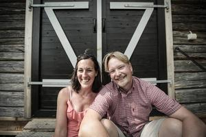 Paret Lisa Cockette och Erik Engström driver ett ölimportföretag.