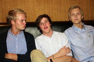 Pluto. Johannes, Axel och Jakob