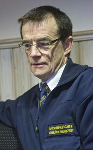 Torbjörn Wannqvist, säkerhetschef för Kommunalförbundet södra Hälsingland.