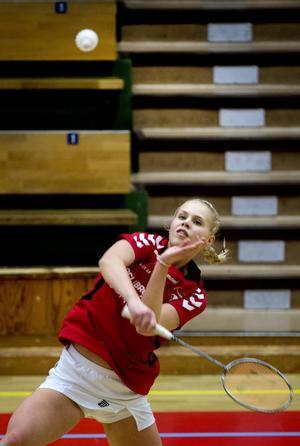 Det blev inga långa pauser mellan matcherna för Ebba Strid som ställde upp i tre klasser och gick till final i samtliga.