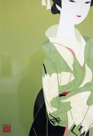 Gaku Nakagawa är en samtida konstnär som använder klassisk teknik.