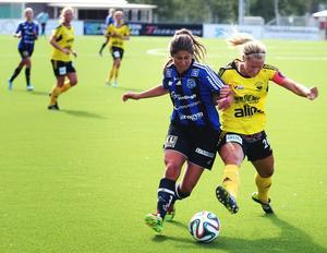 ÖDFF håller ställningarna i toppen av division 1-serien efter kryss i seriefinalen.