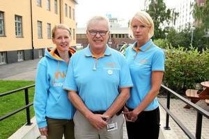 Susanné Wallner, Christer Siwertsson och Saila Quicklund presenterade Moderaternas valmanifest.