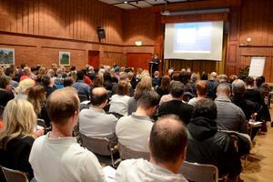 Konferensen lockade fullt hus till konferenslokalen Orion på Galaxen i Borlänge. 140 personer deltog.