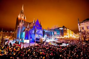 Arrangörerna räknar med att det kommer att slås publikrekord på årets O helga natt. (Bilden är från 2013).