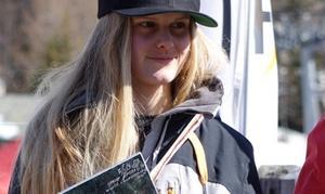 Jennie Lee Burmansson tog silver på JVM i slopstyle.