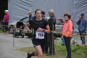 Karin Boström visade än en gång sin styrka i krävande terränglopp.