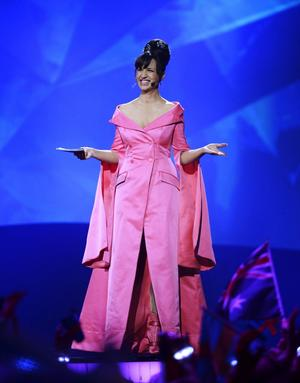 Petra Mede under Eurovision Song Contest.