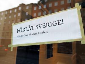 Utställning på Galleri Erik Axl Sund på Söder i Stockholm.