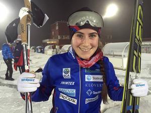 Ebba Andersson segrade i Daniel Karlssons minne och var snabbast av alla.