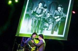 Dave Howard (George) och Jay Murray (John) satte stämsången i All My Loving perfekt. Foto: Ulrika Andersson