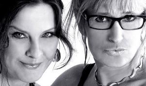 Åter tillsammans. Anna-Lena Brundin och Lill-Marit Bugge.