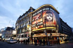 Les Misérables - en av de klassiska musikalerna i London.