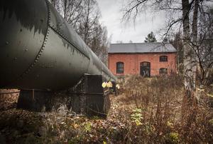 Sofieholms kraftstation i Njutånger där det kan bli naturreservat.