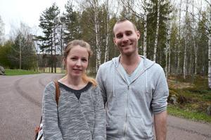Jenny Asp och Erik Frösell flyttade till Falun i början av mars. De fick se vad som är på gång i staden och veta lite om bakgrunden till att olika saker heter som de heter.