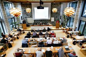 Kommunfullmäktige i Sandviken.