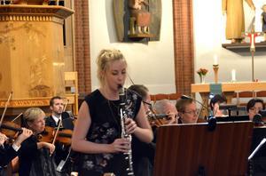 Lydia Holmlund och Sundsvalls Orkesterförening i en härlig höstkonsert.