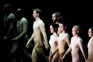 Norrdans på marsch. Anställningar som dansare är mycket eftertraktade. Tusen sökte ett par tjänster hos Norrdans.