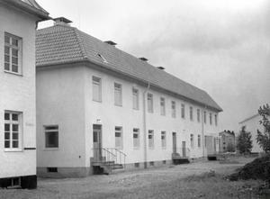 På gamla infektionskliniken i Östersund vårdades bland annat poliodrabbade.