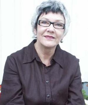 HÄLSIKEHAND. En av medlemmarna: Anita Swahn.