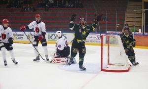 Elias Bjuhr visade vägen för ÖIK i segermatchen mot Kalix med 4–0.