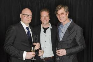 Dan Berglund, Johan Lindström och Martin Hederos tog emot sin tredje Grammis i onsdags.