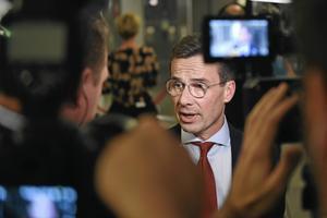 Nye partiledaren Ulf Kristersson.