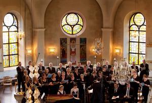 Arkivbild från en tidigare konsert i Norrtälje Kyrka. Foto: Leif Gustavsson