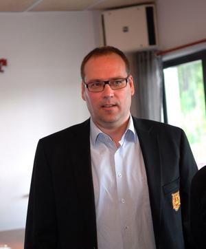 Moras ordförande Patrik Andersson.