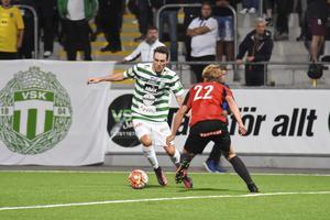 Filip Tronêt är tillbaka i VSK-truppen efter tre matchers frånvaro.