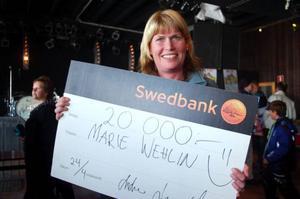 I år blev Marie Welin från Vemdalen den lyckliga vinnaren. – Det känns fantastiskt, min man Ville och min yngsta Isak har också varit med i tävlingen. På torsdag åker vi till Rom hela familjen, säger hon.