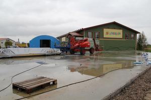 1 000 kvadratmeter stor ska den nya tillbyggnaden bli. Förhoppningen är att den ska kunna tas i bruk i november.
