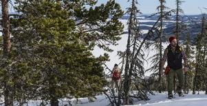 Jerry Engström räknar iskallt med riktig vinter i februari.