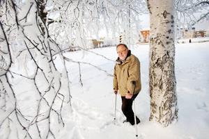 I våras fick Lennart Burman en hjärnblödning, så pass svår att han knappt visste vad han hette. I mellandagarna blev han schackmästare. Foto:  ULRIKA ANDERSSON