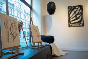 Konstutställningen Metamorphosis på Galleri Granen. Foto: Sara Strandlund.