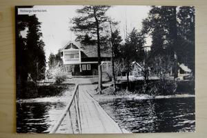 1900-TAL- Kolonin i Rörberg innan den brann ned för 20 år sedan.