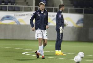 Johan Oremo har gjort elva mål i allsvenskan i år. Bland annat båda i mötet med Kalmar på Strömvallen i våras.