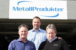 FOTO: KRISTIN RÖJD. Anders Perjans, Hans Nohrlander och Kenneth Engh bildar den nya ägartrion.