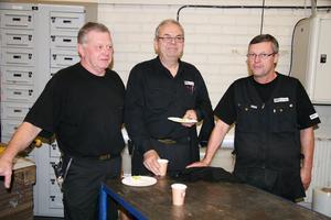 Tre företagsveteraner är Bosse Woxberg, Gert Eriksson och Torbjörn West, som både ser en nystart och en tillbakagång i och med det nya dotterbolaget EIA.