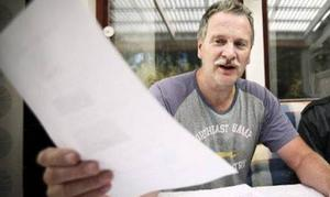 Carl Festin har skickat in en skrivelse till Östersunds kommun.