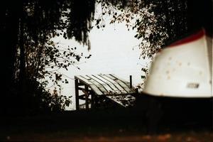 En grå dag vid Sidsjön 1998.