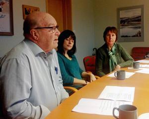 Pelle Persson (VH), Helena Larsson (V) och Gunilla Zetterström-Bäcke (S) berättade under tisdagen att de är överens om en politisk plattform för att styra Härjedalen under den kommande mandatperioden.