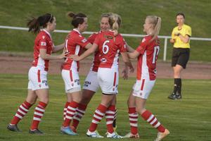 Två förluster fick räcka. På torsdagskvällen vann Tierp igen och stor segerorganisatör blev Mikaela Melin som skruvade in en hörna till 3–1.