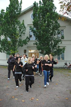 HÄLSOHUSET. Glädjen var stor hos Ungdomsnätverket i Tierp, samt alla inblandade aktörer när det stod klart att projektet fått flera miljoner till att anställa tre ledare.