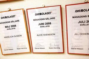 Idolvinnaren Alice Svensson jobbade här och lyckades så bra att hon belönades med diplom.
